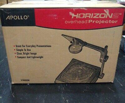 Apollo Horizon 2 Overhead Projector 2000 Lumen Output 10 X 10 Open Head V16000m