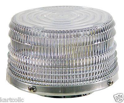 Sho-me Bi-color 360 Led Beacon- Amberwhite - Magnetic Mount