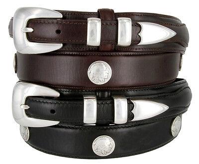 Buffalo Nickel & Indian - Western Genuine Leather Ranger ...