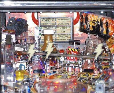 AC/DC Pinball Flashing Thunderbolt Mod By Pinbits