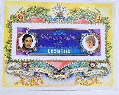 Lesotho Royal Wedding commemoration m.150 stamp