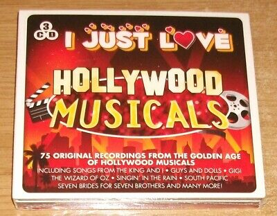 Various Artists - I Just Love Hollywood Musicals 3 CD SET - NEW & SEALED