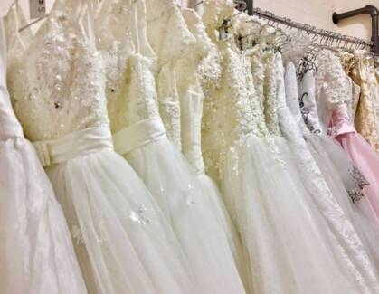 Wedding dress and Formal dress on sale