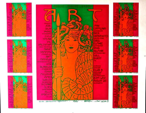 ARTIST RIGHTS BENEFIT 1986- MOSCOSO, MOUSE, GRIFFIN, KELLY, WILSON-ORIGINAL RARE