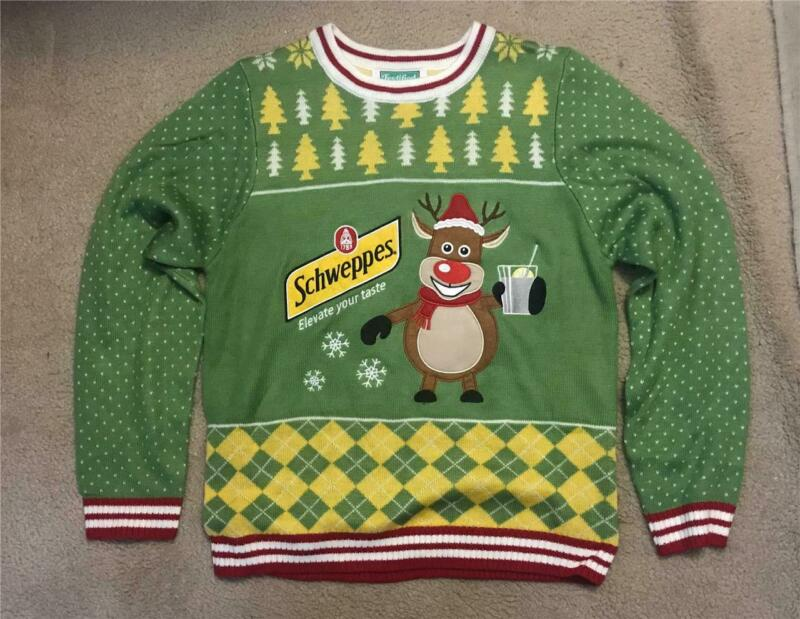 Festified Schweppes Sweater New Without Tags Size Men