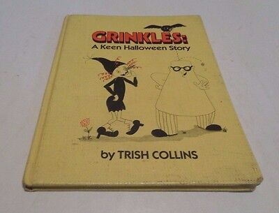 CRINKLES: A Keen Halloween Story HC/1981 Trish Collins An Easy Read Book - - Reading Halloween Stories