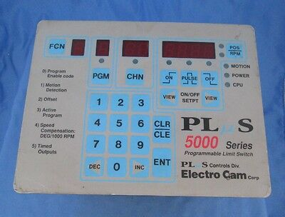 Electro Cam Programmable Limit Switch 5000 Series Ps-5024-10-m09