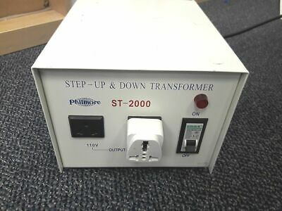Philmore 2000w St-2000 Step Up Down Transformer 110220v -free Shipping