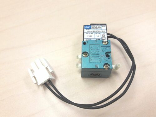 MAC Valves 45A-AB2-DFAA-1BA 12VDC Solenoid Valve 1 in 2 out - Free Shipping