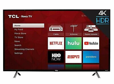 TCL 43S405 43 inch 4K Ultra HD HDR LED Roku Smart TV