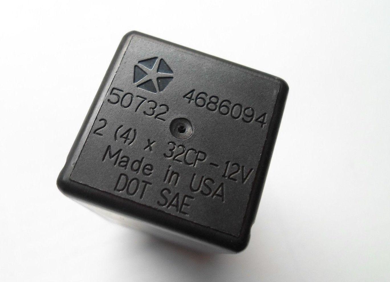 turn signal flasher 4686094 jeep grand cherokee turn signal flasher relay module tested 1999 2004