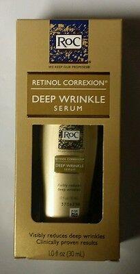 ROC Retinol Correxion DEEP WRINKLE SERUM 1 oz (30mL) Anti-Wrinkle 2018+