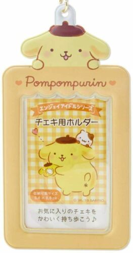 Pompompurin Photo holder frame charm keychain Sanrio Japan Official Goods New