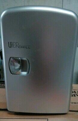 Uber Appliance (UB-CH1-SILVER) Mini Fridge - Silver