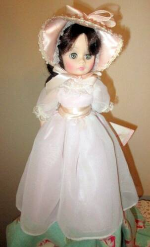 VINTAGE MADAM ALEXANDER PINKY DOLL 12 FULLY DRESSED ON STAND - $20.00