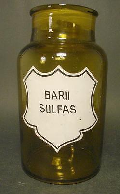 Apothekenflasche BARII SULFAS