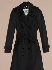 Burberry cashmere trenchcoat