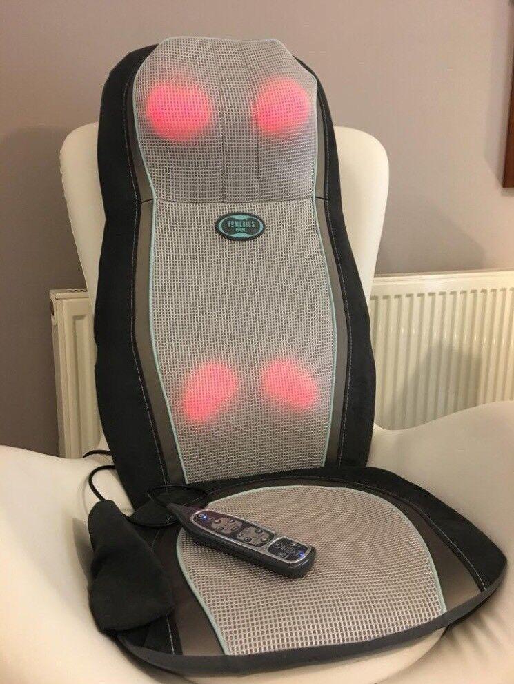 Homedics gel Shiatsu Massage Chair cover
