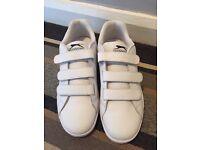 Men's Slazenger white trainers size 10