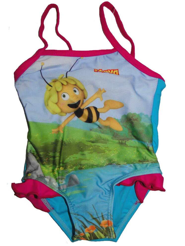 Mädchen Biene Maja Badeanzug Kinder Kleinkind Bademode Willi Badehose Bikini