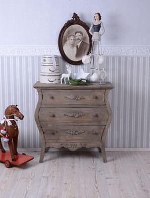 Landhaus Romantik vintage Kommode altes Holz shabby chic Schubladenkommode neu
