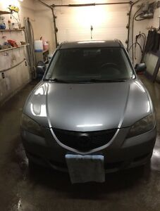 2004 MAZDA 3: GOING TO SCHOOL SALE