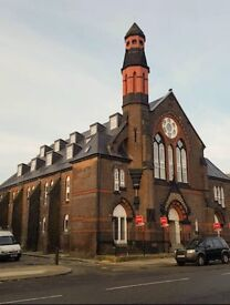 2 bed modern, converted church