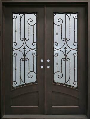 BEAUTIFUL IRON INSULATED ESTATE DOORWAY ENTRY - D23