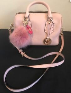 PINK MICHAEL KORS CROSSBODY PURSE WITH WALLET