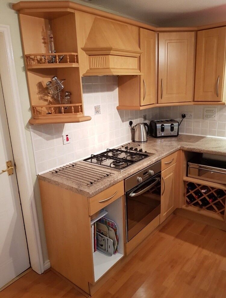 Kitchen units and electrical appliances