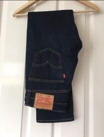 Men Levi's 511 blue jeans. Waist 31 -leg 30