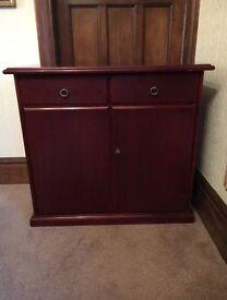 Mahogany Small Sideboard/Dresser