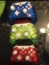 Xbox one wired controllers £15 each or 3 for £40