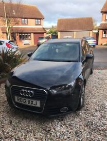 Audi A1 Black 2012 plate LOW MILEAGE