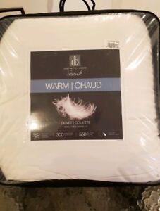 Warm / chaud     Duvet /Couette