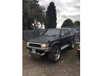 Toyota surf hilux ssrx 3.0 TD diesel auto 4x4 estate highly modified tuned engine many extras £1995