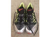 Nike Zoom Super Fly Sprint Running Spikes Size UK 8.5