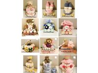 Beautiful hand made baby gift hampers for all occassions