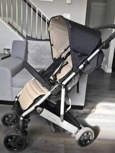 Mamas and Papas Luna Stroller in Stone/Black