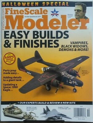 Fine Scale Modeler Oct 2017 Halloween Special Easy Builds Kits FREE SHIPPING sb