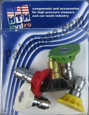 Mtm Hydro 17.0185 Pressure Washer 5.0 Spray Tips 5 Pack