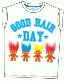 Ladies Trolls Good Hair Day Real Troll Hair T Shirts