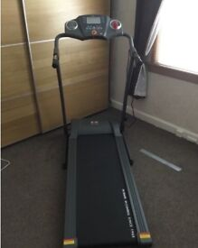 TREADMILL EXERCISE MACHINE AS NEW ONLY USED TWICE