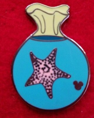 DISNEY PIN FINDING NEMO STARFISH IN A BAG HIDDEN MICKEY MOUSE CAST PIN