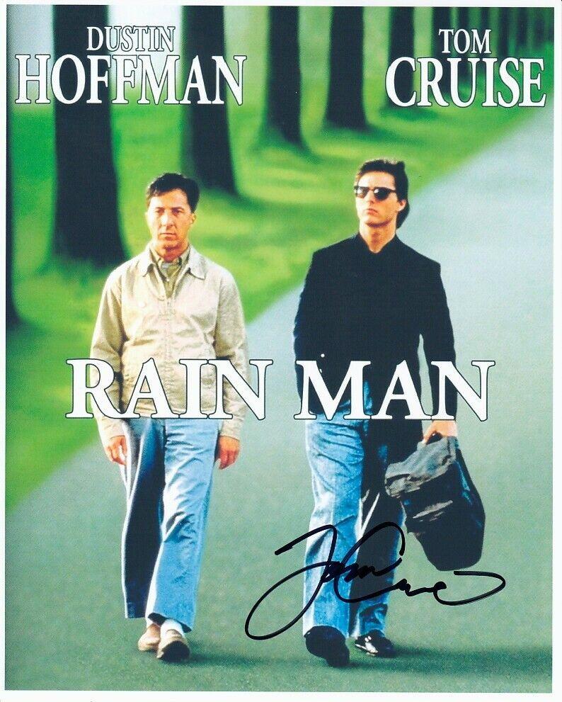 TOM CRUISE Hand-signed RAIN MAN 8x10 Authentic W/ Coa DUSTIN HOFFMAN MINI-POSTER - $32.99