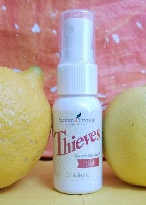 Young Living Thieves Spray   1 Oz   Free Shipping