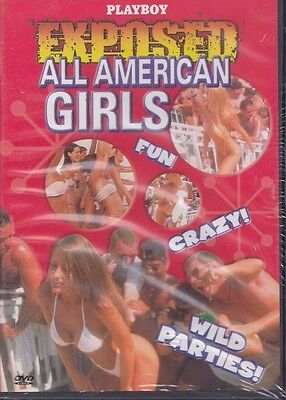Playboy 2001 Exposed All American Girls DVD 55 Minutes Image Entertainment  (American Icon)