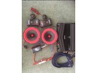 Kenwood Powered Amplifier Cerwin Vega Speakers