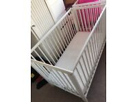 Ikea cot with M&S mattress