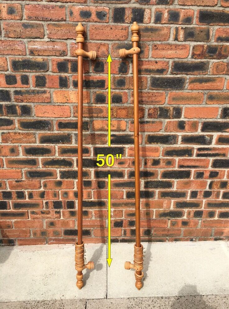 Wooden curtain polesin Stalybridge, ManchesterGumtree - Wooden curtain poles. Decent condition £10.00 pick up only. See picture for size